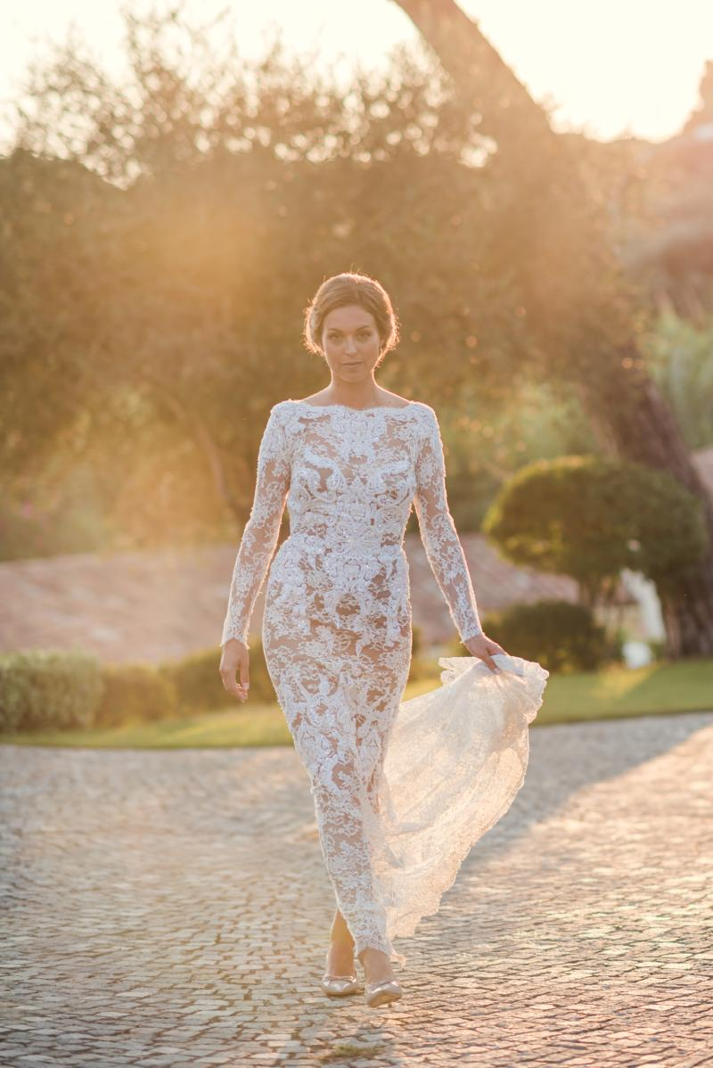la mariée, photo prise par Florence Martin, photographe professionnelle dans le Var et les Alpes Maritimes