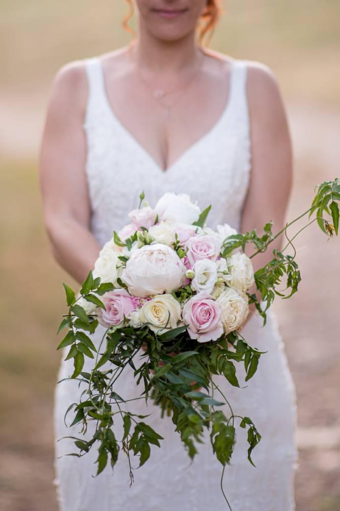 le bouquet de la mariéé, photo prise par Florence Martin photographe de mariage