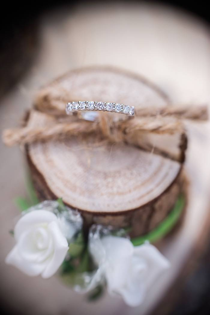 alliance pour mariage photo prise par Florence Martin photographe professionnelle dans le Var et les Alpes Maritimes