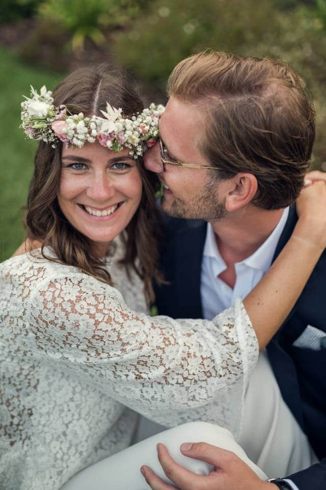 photo des mariés par un photographe professionnel de mariage